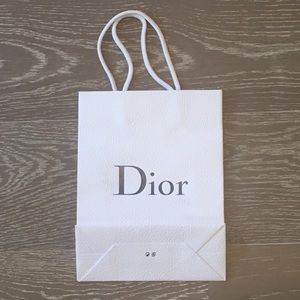 Dior Shopping Paper Bag